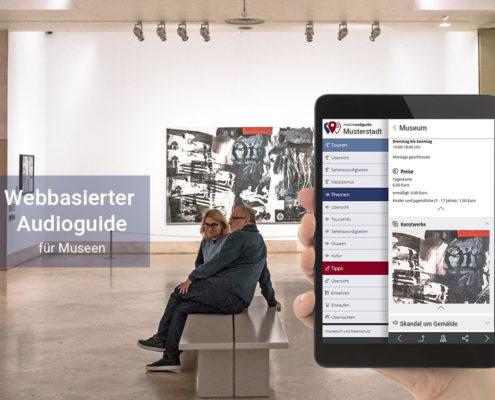 satelles mobilewebguide: Museums Guide und Audio Guide