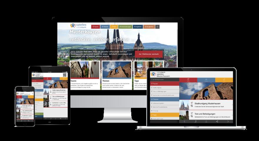 igitales Tourismus Marketingals geräteunabhängige Web App