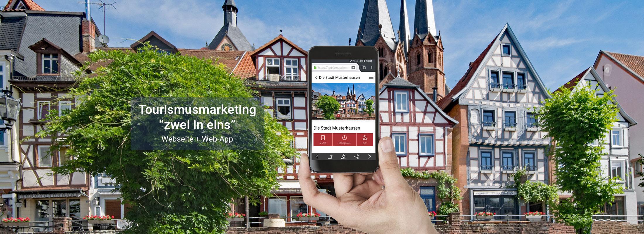 satelles mobilewebguide: digitales Tourismusmarketing, Web App und Webseite in einem