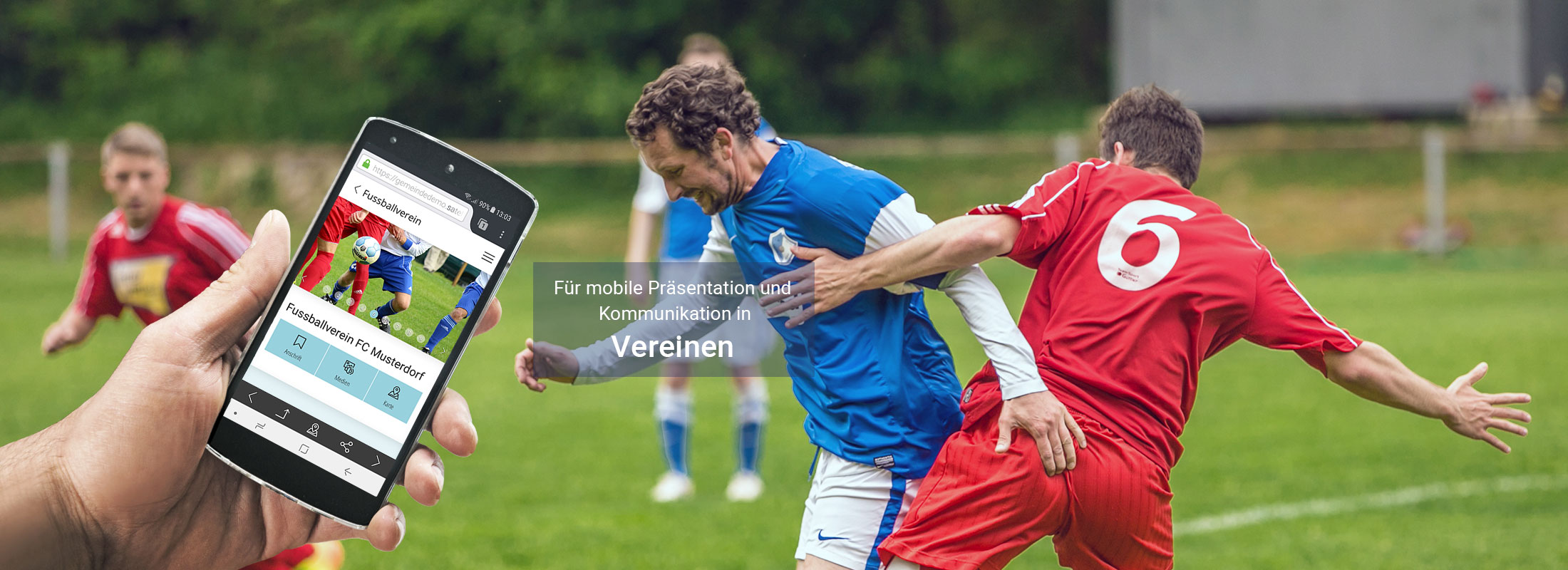 satelles mobilewebguide: Vereins App, Web App