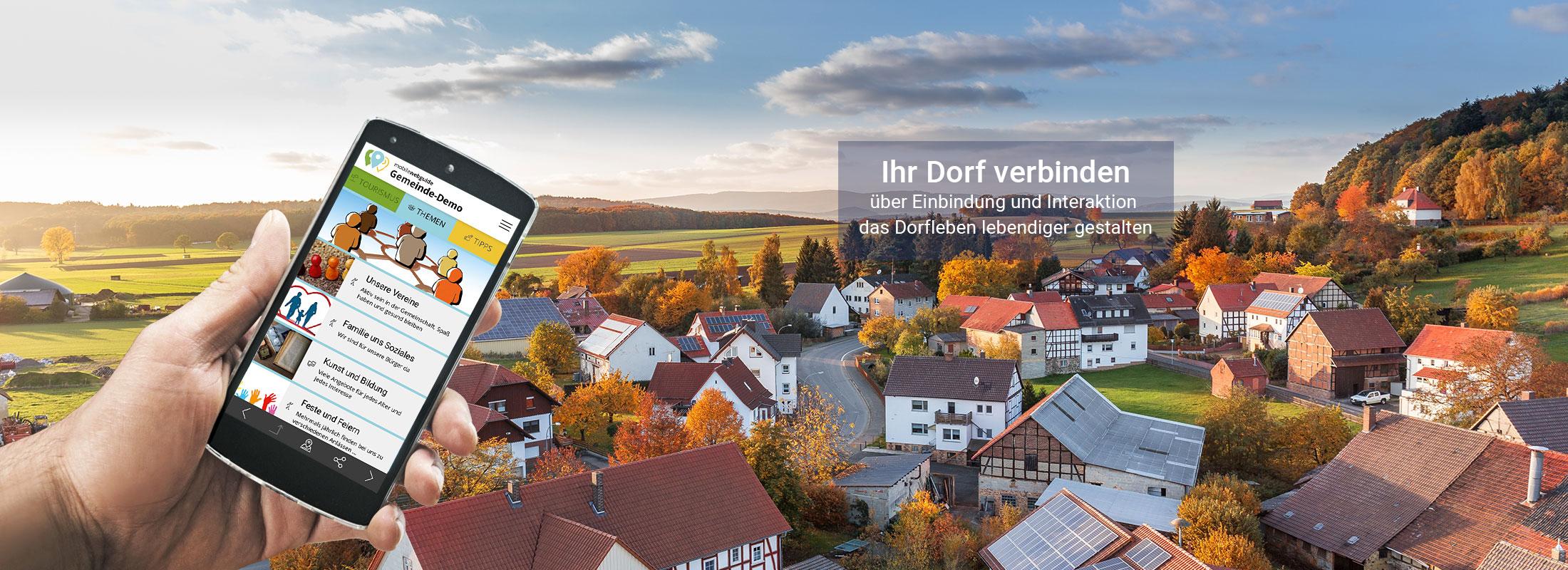 satelles mobilewebguide: Dorf App und Bürger App