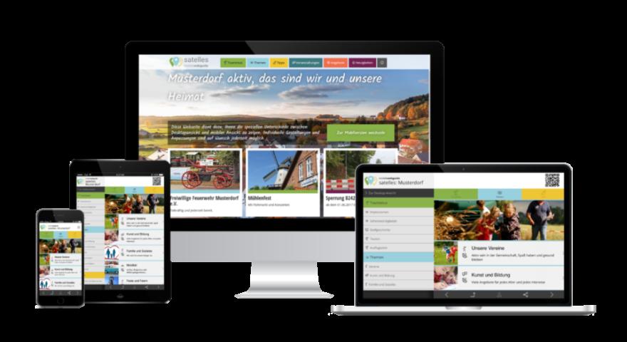 Dorf App Bürger App digitales Dorf als geräteunabhängige Web App