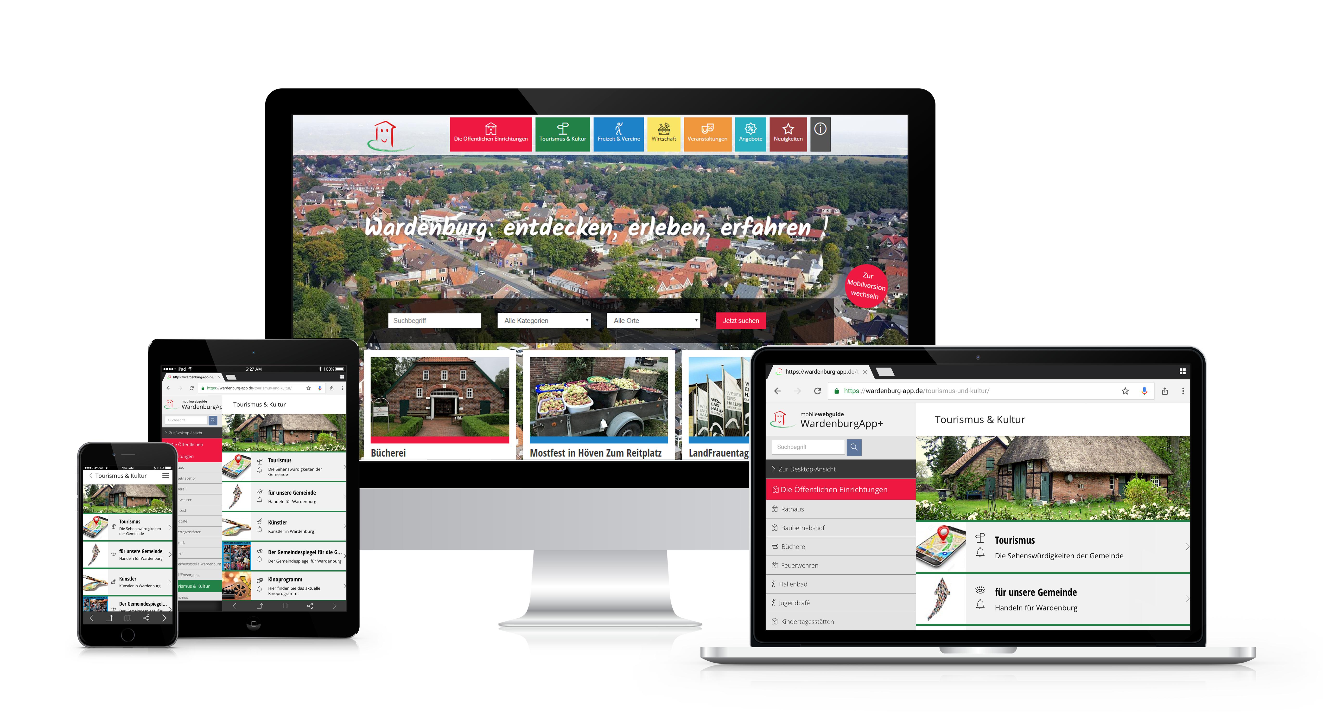Gemeinde App oder Bürger App für Wardenburg